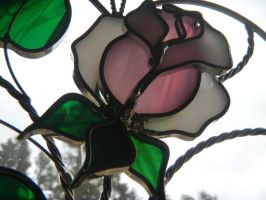 Stained Glass Rose by The-Lighted-Soul