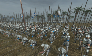 medieval II total war : pikemen by kingdom71