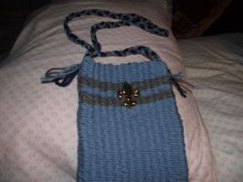 Ravenclaw bag with button by Armadeo