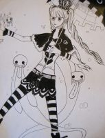 The Ghost Princess- Inked by Hiromi-Yumi