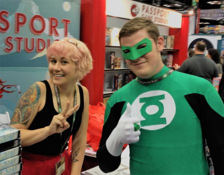 Green Lantern Cosplay by MrPruitt