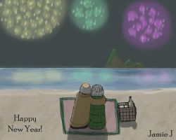 Looking Forward to another  awesome year together! by jjartstudio