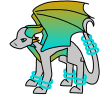 50 theme adoptable challenge - Portal by Dragon-Wolf-Lover