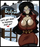 Business Woman by BlackSen