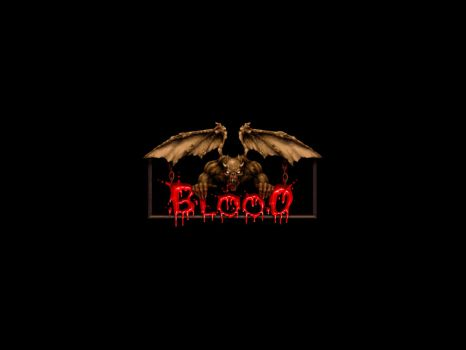simple blood wallpaper by niconosave
