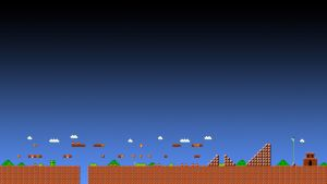 Super Mario 1-1 Wallpaper - HD 1080p by ColinPlox