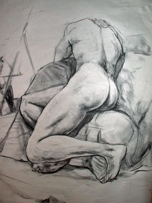 Something To Draw For Your Boyfriend 'life drawing 5' by