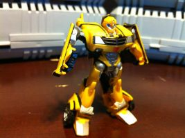 Detailed CV TFP Bumblebee - static pose by wulongti