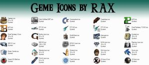 Geme Icons by rax001