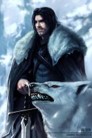 Jon Snow by Clearmirror-StillH2O