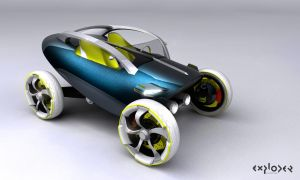 EXPLODER CONCEPT CAR 2020 by criarpo