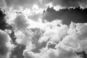 Cloudy sky texture 05 by LupulSinguratic