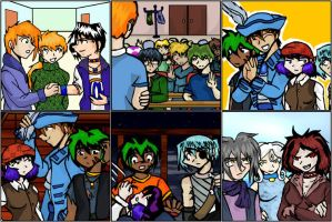 EE Comic Panels Groups by PirateKing