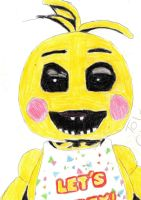Toy Chica (FnaF) by Richard-the-Evil