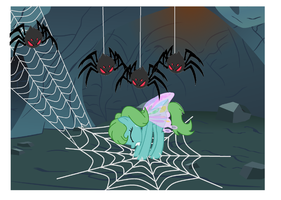 Miya Web Trouble (With Background) by SoraStrives