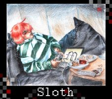 First Sin: Sloth by GuiltyOne
