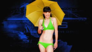 Pauley Perrette Parasol by Dave-Daring