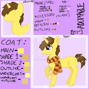 {PONY ADOPTABLE] {{points accepted only}} MLP by Superstargirl1