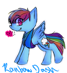 Rainbow Dash By Classy Creeper-d64vvbm by TwistedAnchor