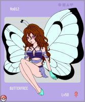 Butterfree pokedex by ayas-shadow