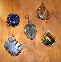 Wire Wrapped by SarahTheSlightlyMad