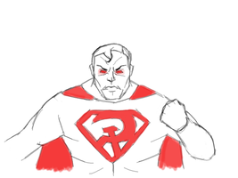 Day 18-Superman Red Son by Dan21Almeida95