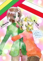 APH:Lithuania+Poland by Ice-S-Cream-Twins
