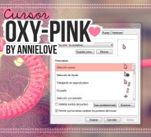 Oxy-pink By Annielove  by Analaurasam