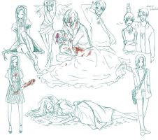 hetalia sketch collection by hahahaXD
