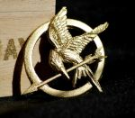 The Mockingjay pin by Fezti