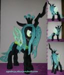 Queen Chrysalis by agatrix