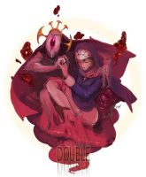 skull girls - double by px3px3