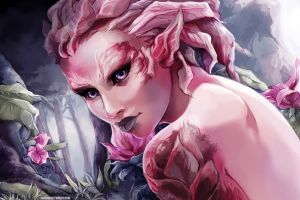 GW2: Sylvari by betrayal-and-wisdom