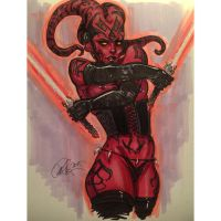Darth Talon by Rvalenzuela80