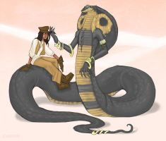 Com: Rohana and the Naga Queen by phantomeus