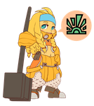 Chibi - Little Miss Forge by Dia-Dark