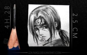 Itachi Miniature Sketch by Iza-nagi