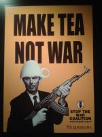 Make tea, not war by DarkScimitar