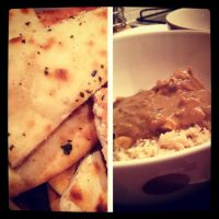 058 Indian Chicken with Naan by DistortedSmile