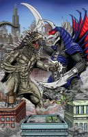 GBRVaran vs GFWGigan by kaijuverse