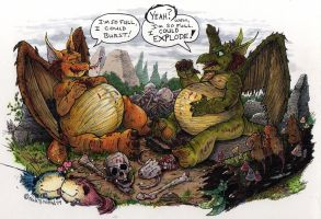 Snort and Flem by Phraggle