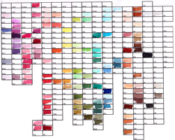 Copic Color Chart 2012 by Kaoru-tian