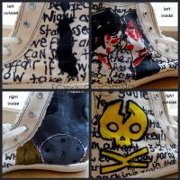 My Chemical Shoes by ForsakenZombie