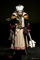 Warhammer 40 000 Inquisitor on Stage by alberti