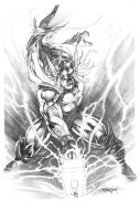 Classic Thor by sjsegovia