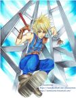 Final Fantasy VII: Cloud Strife by snow0storm