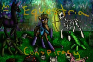 An Equestria Conspiracy, COVER (MineC. and Ponies) by InutheAlbino