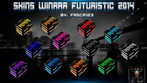 Skins Winrar Futuristic 2014 By: FASCA123 by FASsCA123