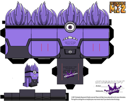 Despicable Me Evil Purple Minion Part 1 by SKGaleana