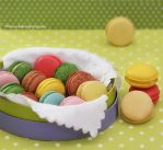 Pretty Patties - Homemade Macaroons by theresahelmer
